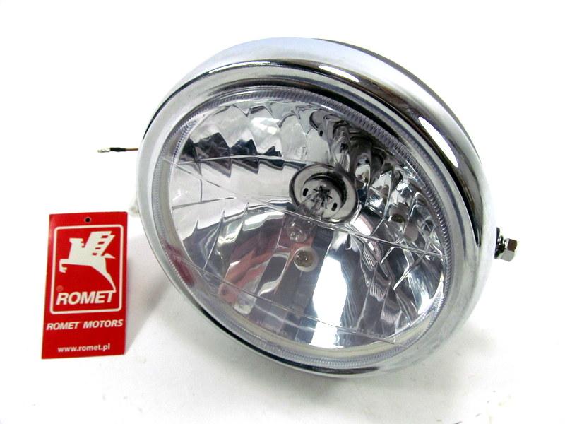 Reflektor lampa przód przednia Romet K 125 ZK 50