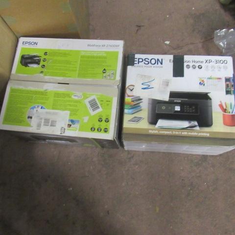 Zestaw 2 drukarek używany nie sprawne Epson