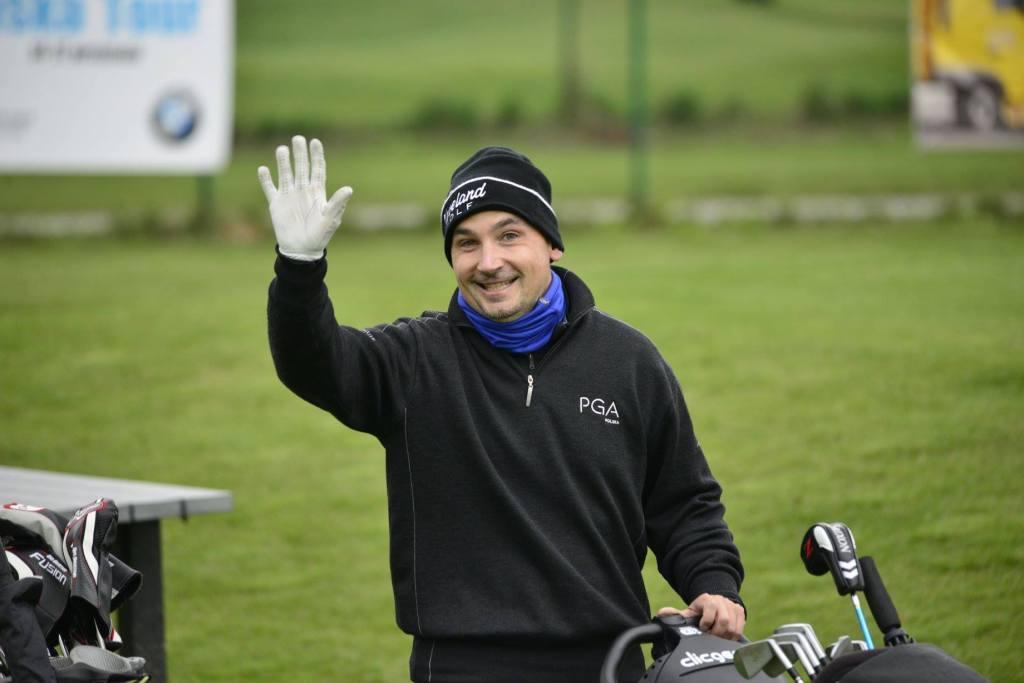 Nauka gry w golfa z Tomaszem Zembrowskim!