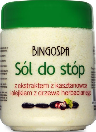 Bingospa Sól Do Stóp Z Kasztanowcem 550G