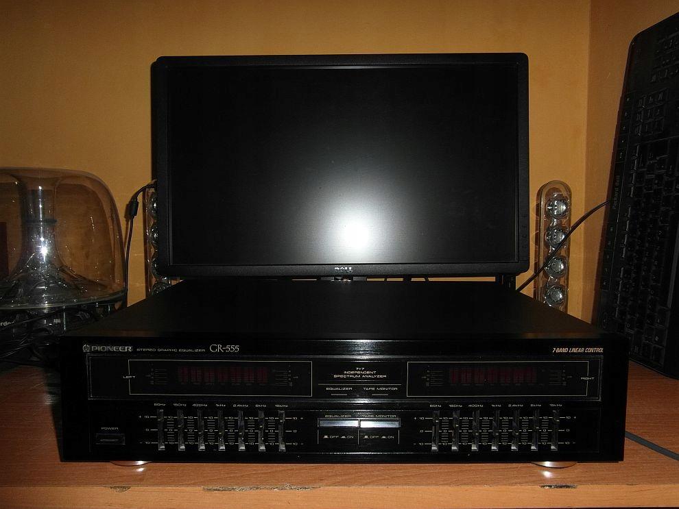 Korektor graficzny Pioneer GR-555 2x7band 2xwidma!