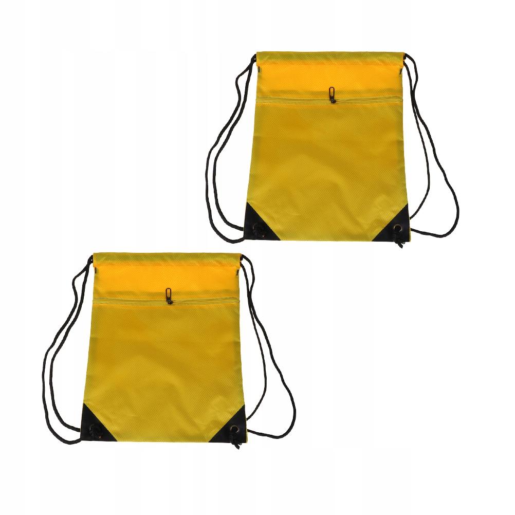 2 sztuk Prosty plecak ze sprzętem Dolne Torby nylo