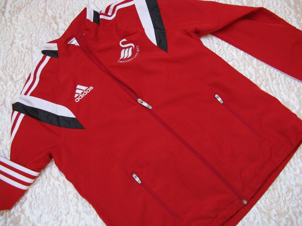 SUPER bluza kurtka sportowa dresowa ADIDAS 158 164