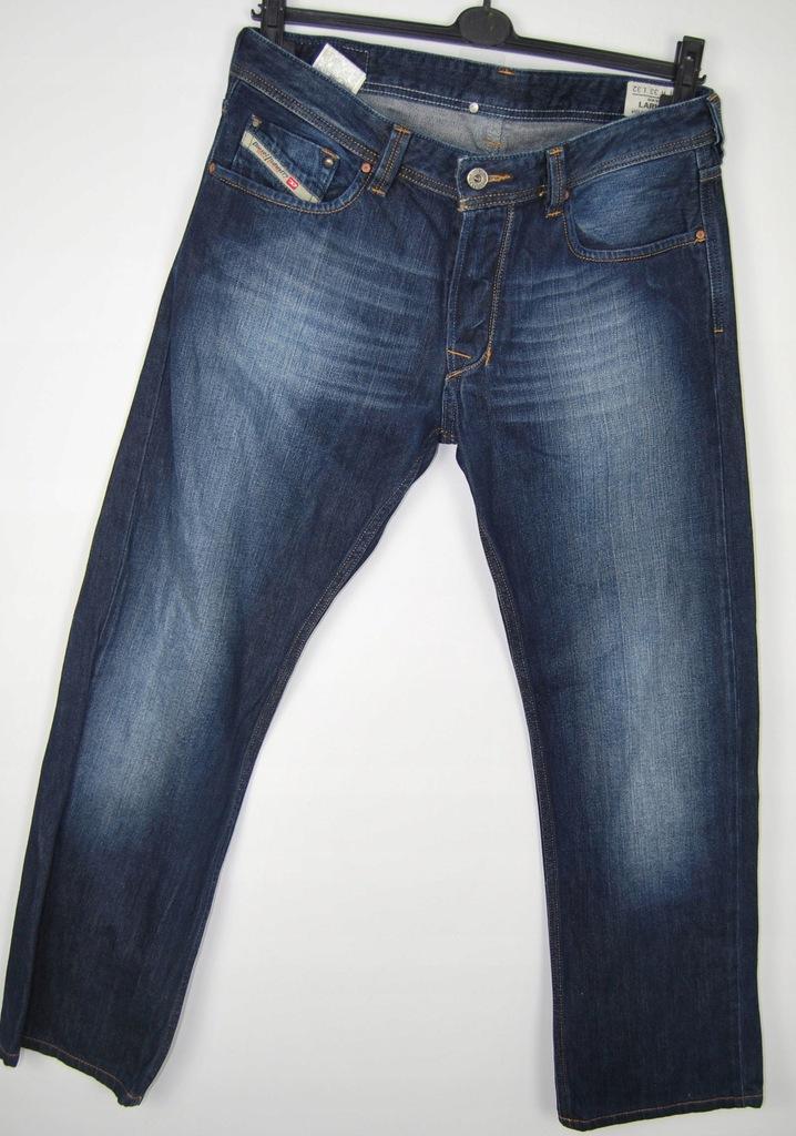 Diesel jeansy spodnie męskie denim 33 / 32 granat