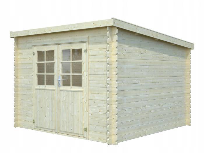 Drewniany domek narzędziowy - EKO 146 296x296