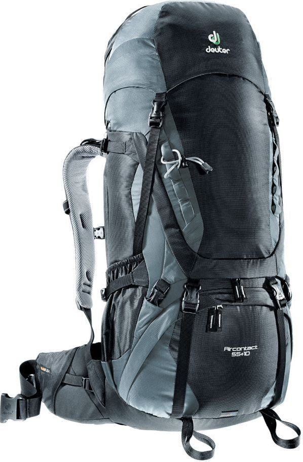 Deuter Plecak trekkingowy Aircontact 55 + 10 black