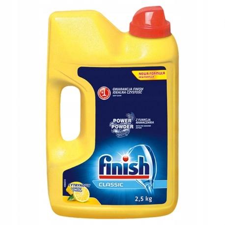 Finish Classic Lemon Proszek do mycia naczyń w zmy