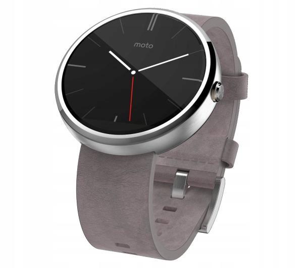 Zegarek Smart Motorola Moto 360 (srebrny) 320 mAh