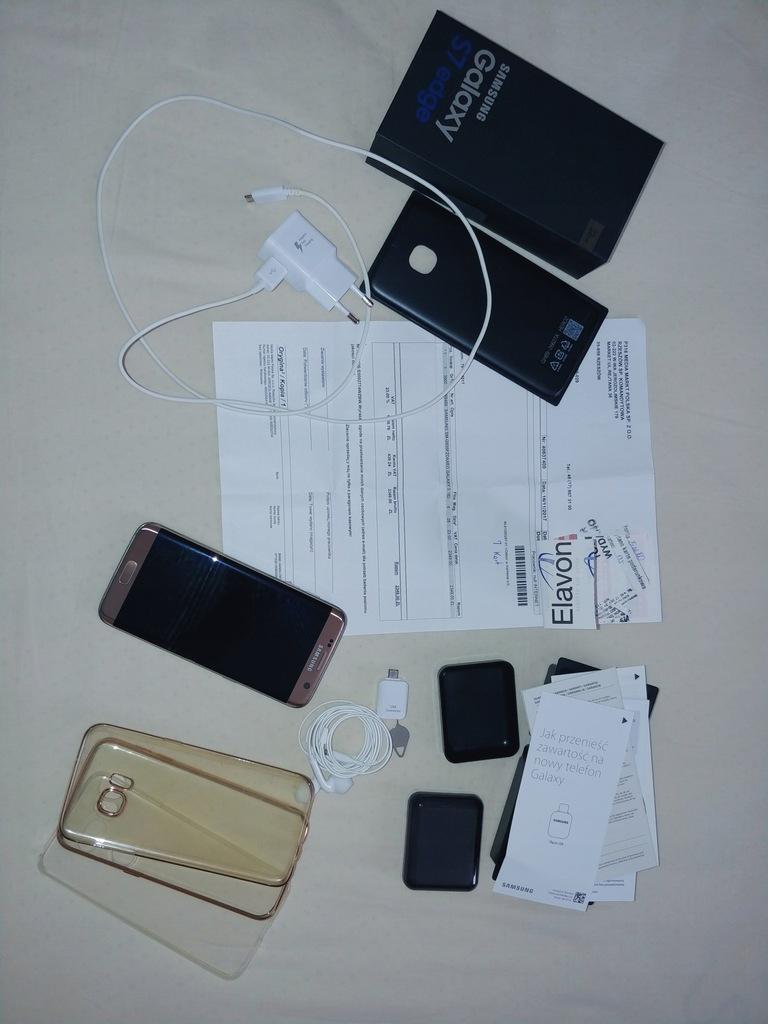 Samsung Galaxy S7 + etui + ładowarka brak pęknięć Rzeszów