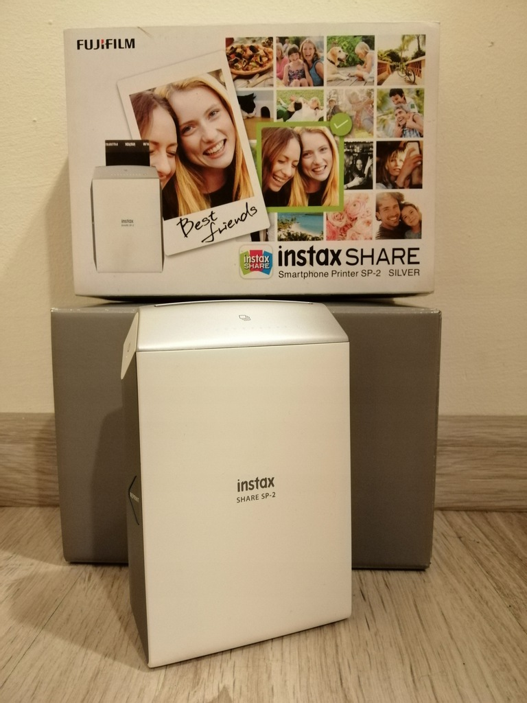FUJIFILM Instax Share SP-2 iOS Android - Silver