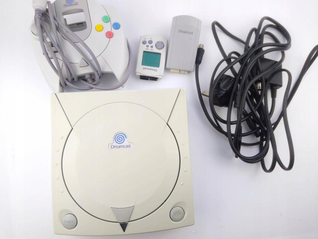 Dreamcast Sega Komplet ! ŁADNY
