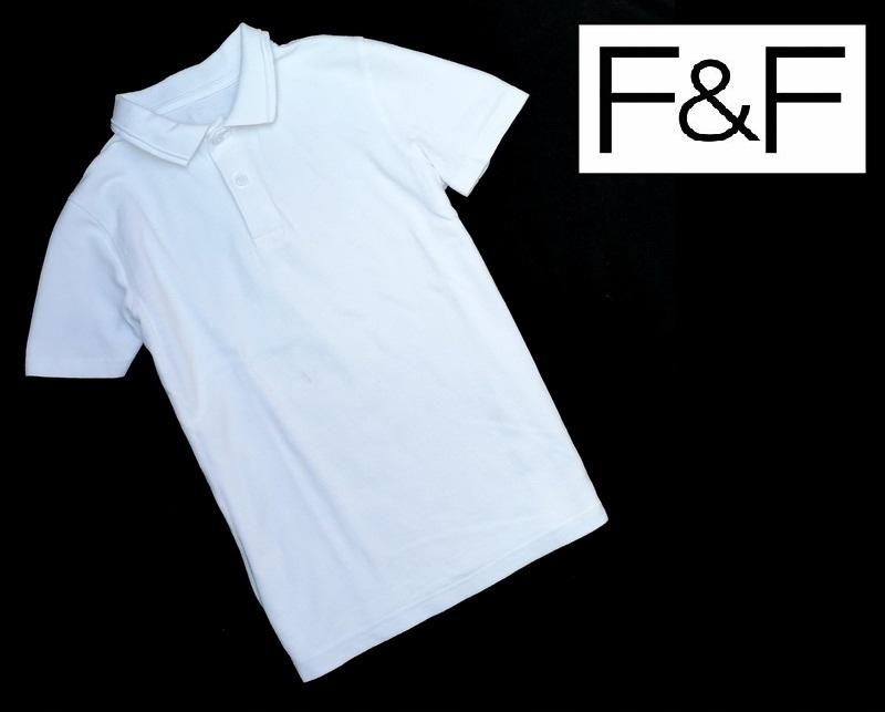 F&F biała koszula polo rozmiar 134 140