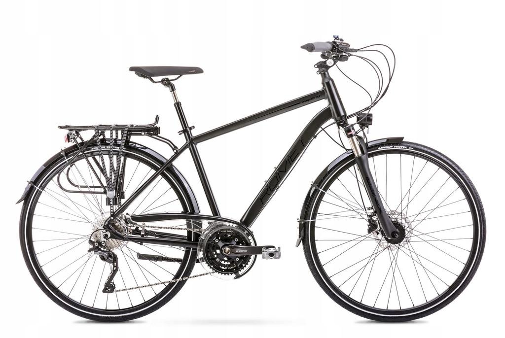 Rower Romet Wagant 10 czarny 21''