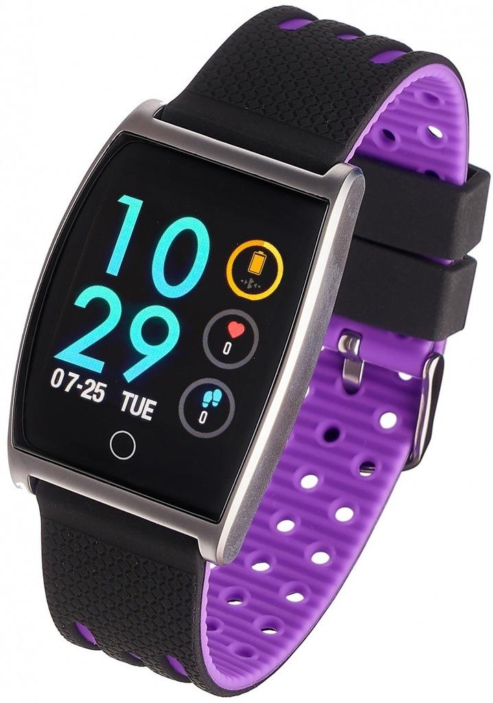GARETT ELECTRONICS Smartwatch Sport 22 fioletowy