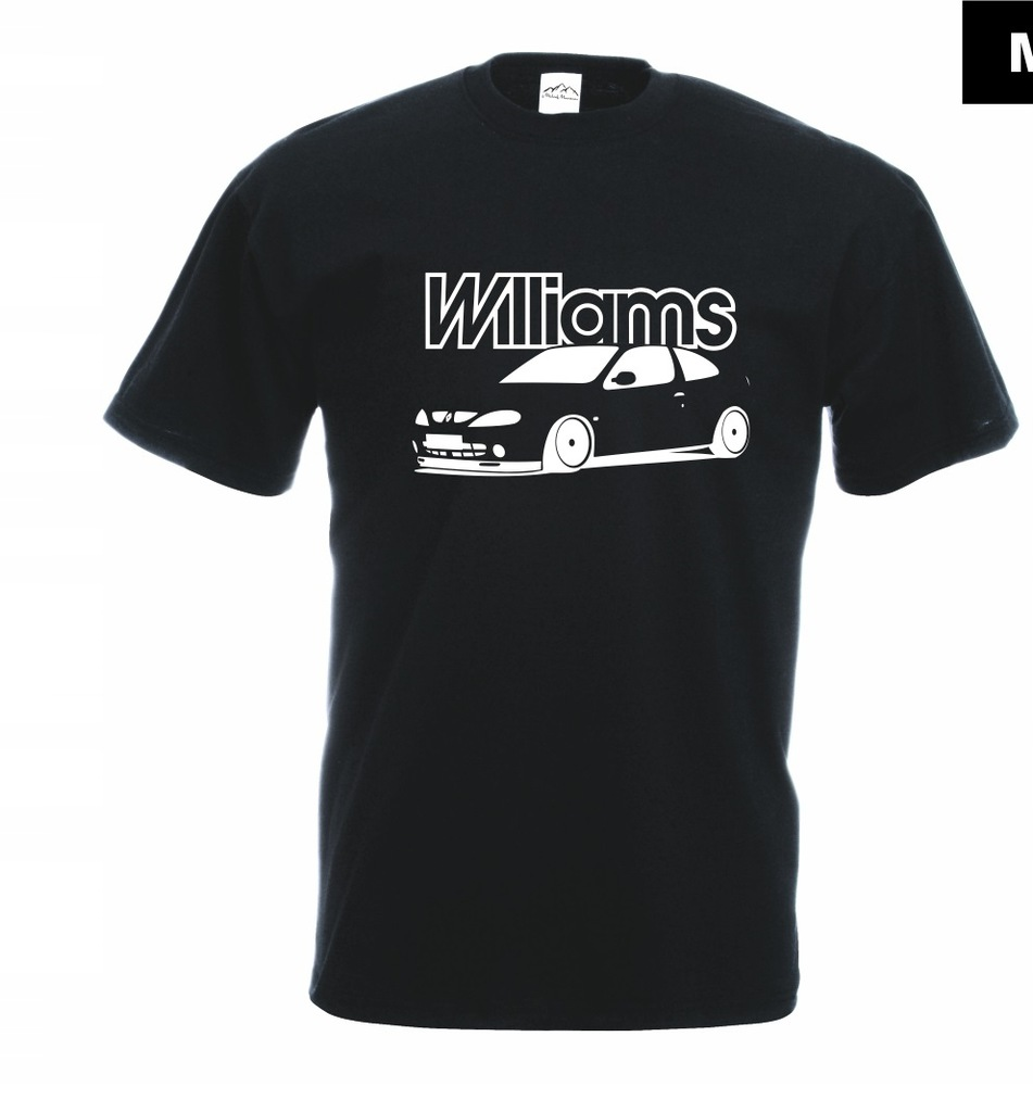 Koszulka z nadrukiem WILLIAMS rozm.XL MT324