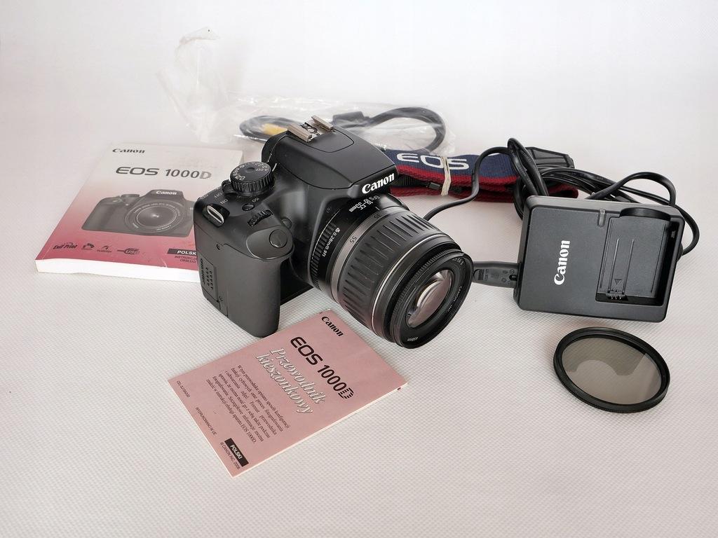 Canon 1000D + 18-55 II polar przebieg 6631