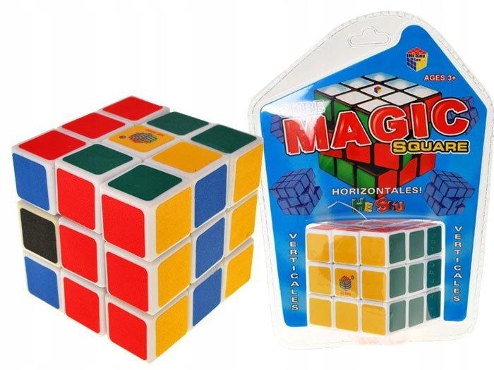 Logiczna układanka KOSTKA gra zręcznościowa ZA1060