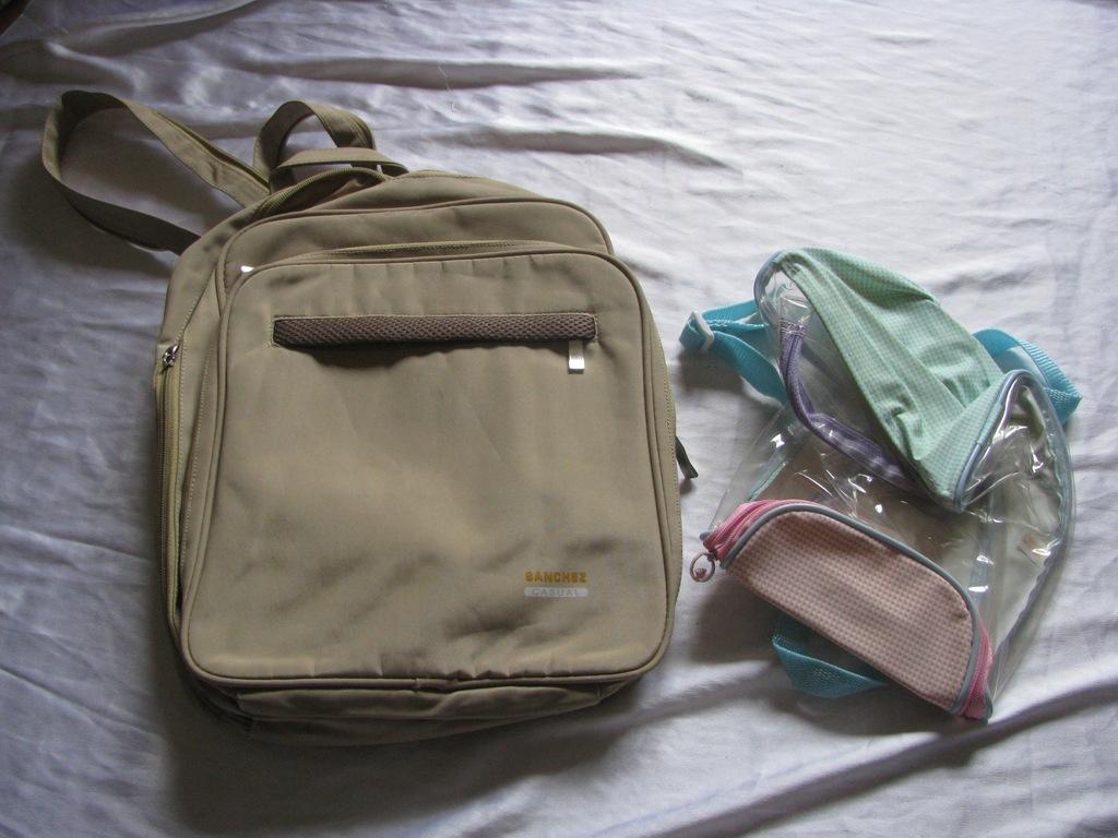 Plecak 2 sztuki SANCHEZ CASUAL FOLIA