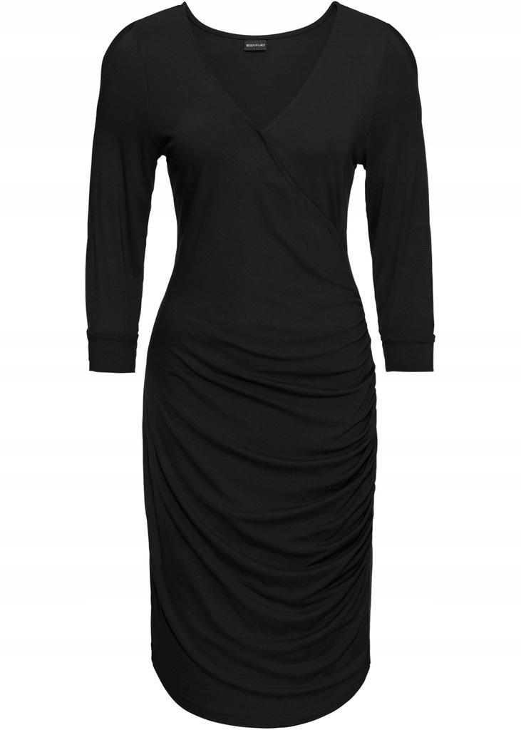 BONPRIX Sukienka z wycięciami na rękawach r.4042
