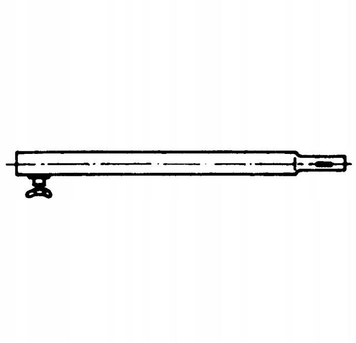 Rurka Rurki stelaża do przedsionka fi 22mm 100cm