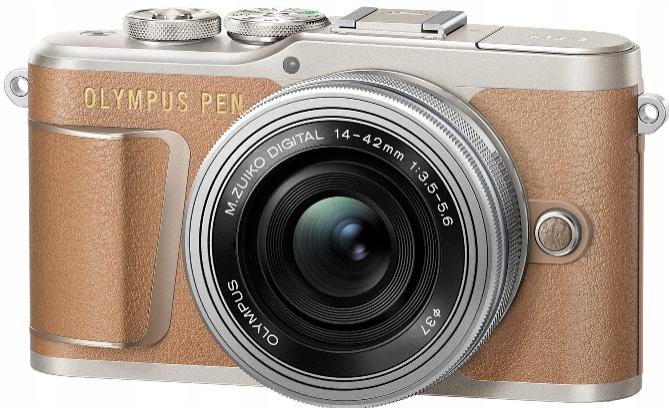 Olympus PEN E-PL9 + 14-42 EZ brązowy PL