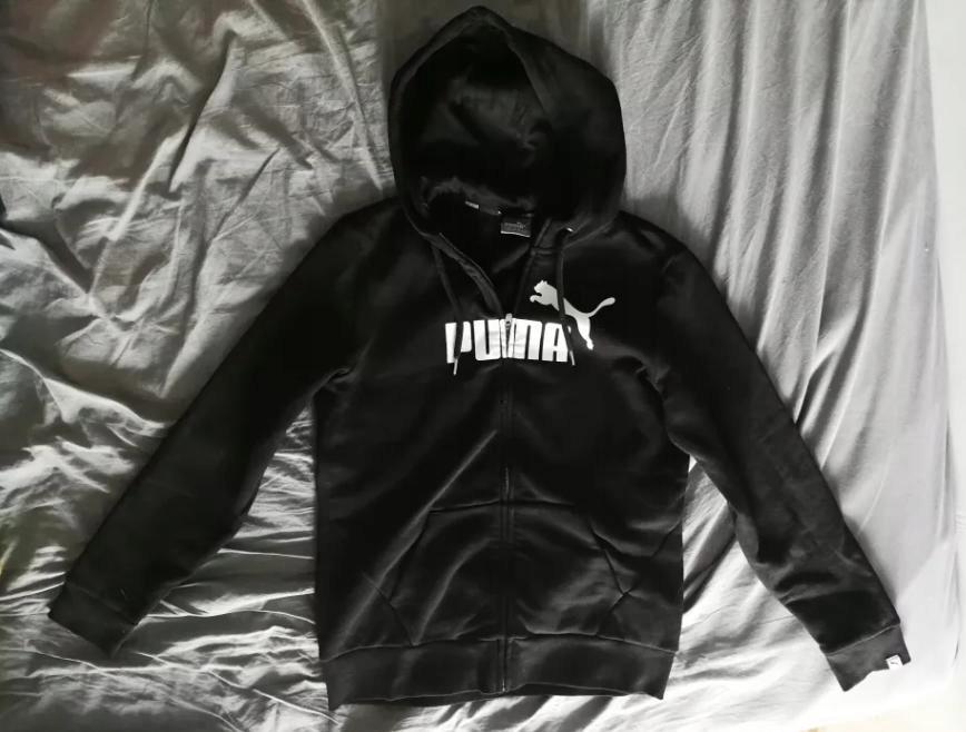 PUMA Bluza markowa OCIEPLANA z kapturem L nowa