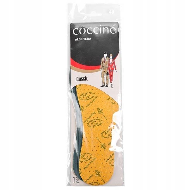 Wkładki do butów Coccine Aloe Vera r.37