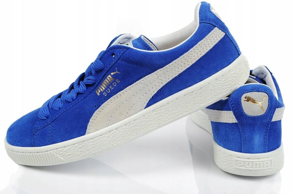 Tenisówki Puma Damskie Suede Classic NiebieskieBrązowe