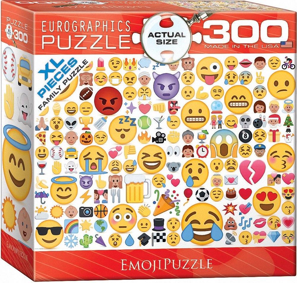 Eurographics Emoji Puzzle 300Piece MultiColour