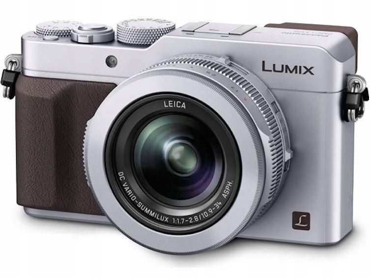 Aparat Panasonic Lumix DMC-LX100 srebrny 4K