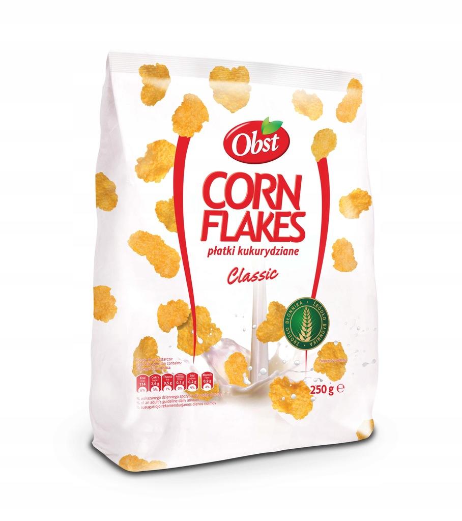 Płatki kukurydziane Corn Flakes Classic 250g