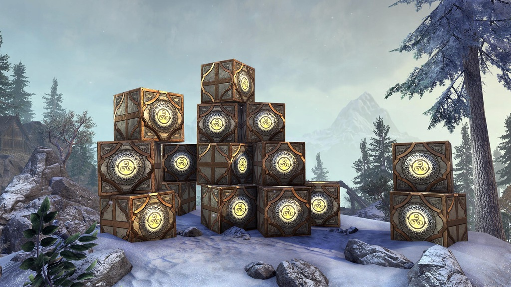 ESO Skrzynki Elder Scrolls Online 30x Crown Crates