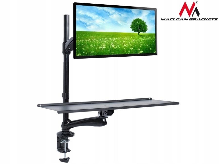 MACLEAN Uchwyt do monitora oraz klawiatury MC-681