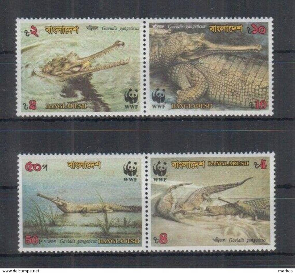 K761. Bangladesz - MNH - Zwierzęta - Gady -