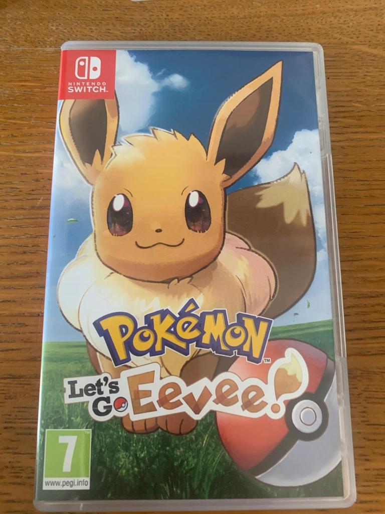 switch Pokemon: Lets Go Eevee ! Nowa folia