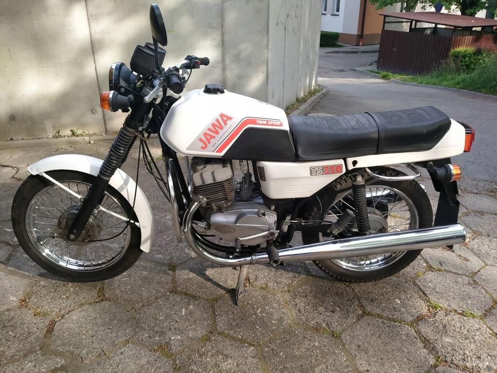 Jawa TS 350. Oryginał