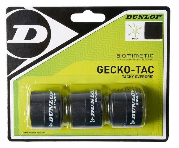 Owijki wierzchnie Dunlop Gecko-Tac Overgrip x3 3