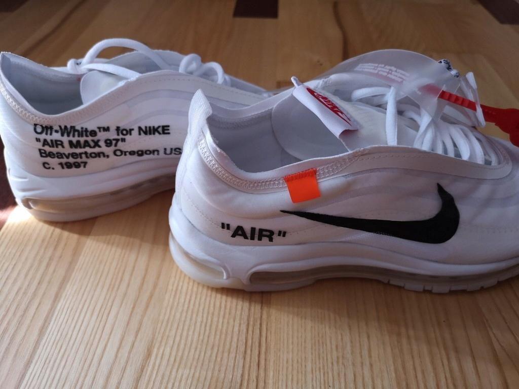 Nike Air Max 97 Off White Beaverton, Oregon c.1997 OG | eBay