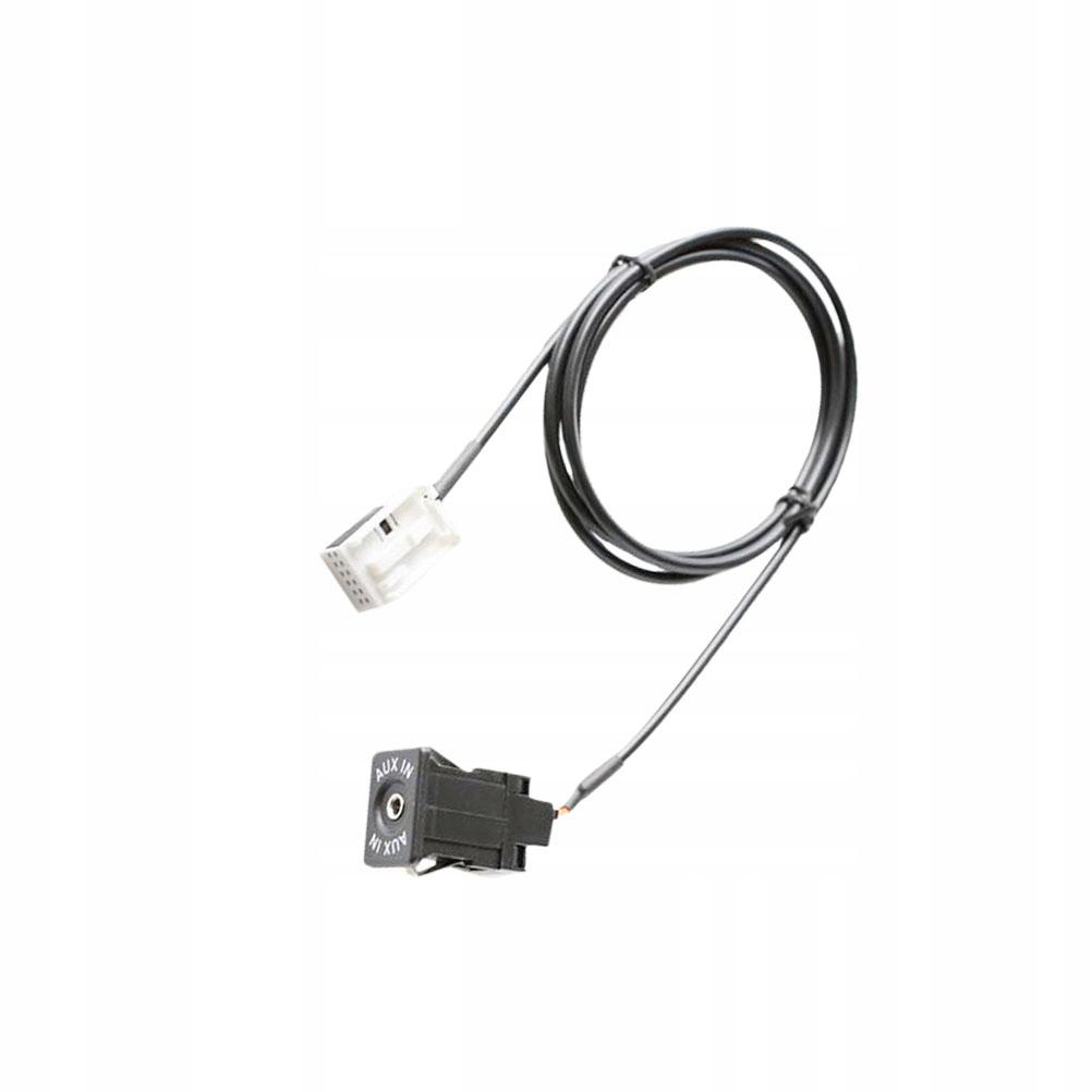 1pc Car Radio Audio AUX Cable Adapter Input Connec