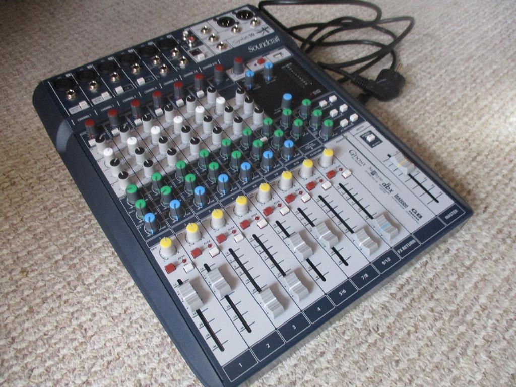 Mixer Audio, Soundcraft Signature 10, okazja