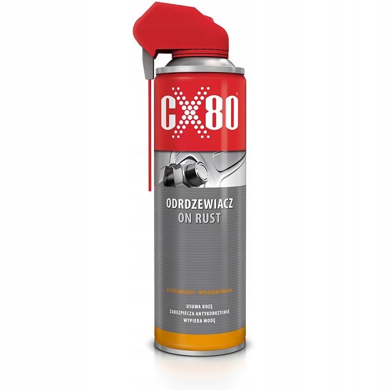 CX80 ON RUST 500ml ODRDZEWIACZ USUWA RDZĘ