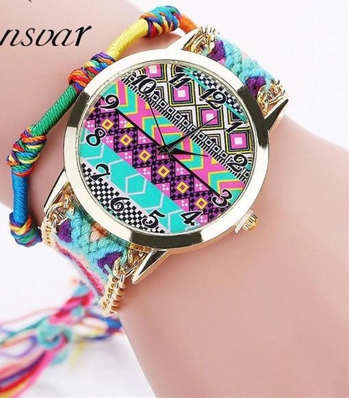 Zegarek kolorowy