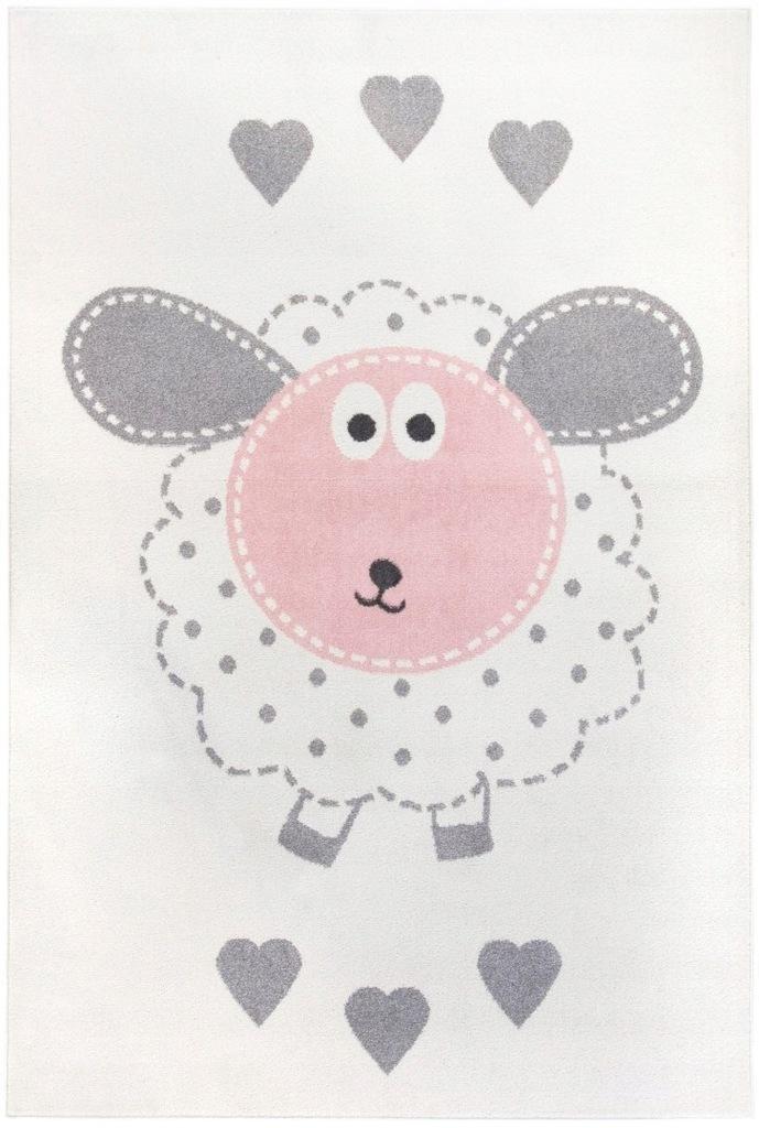 Dywan pokój dziecięcy owieczka 120x170 przytulny_C