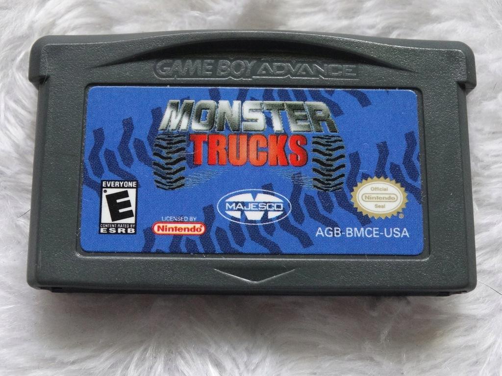 MONSTER TRUCKS - GBA - 100% ORYGINALNA