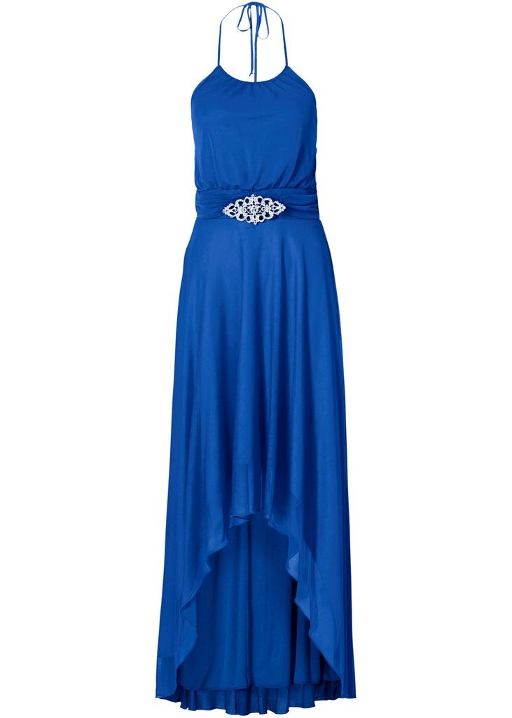K381 BPC Sukienka z ramiączkami na szyję r.40