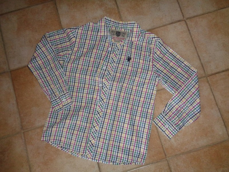 Next-koszula chłopięca rozm.134