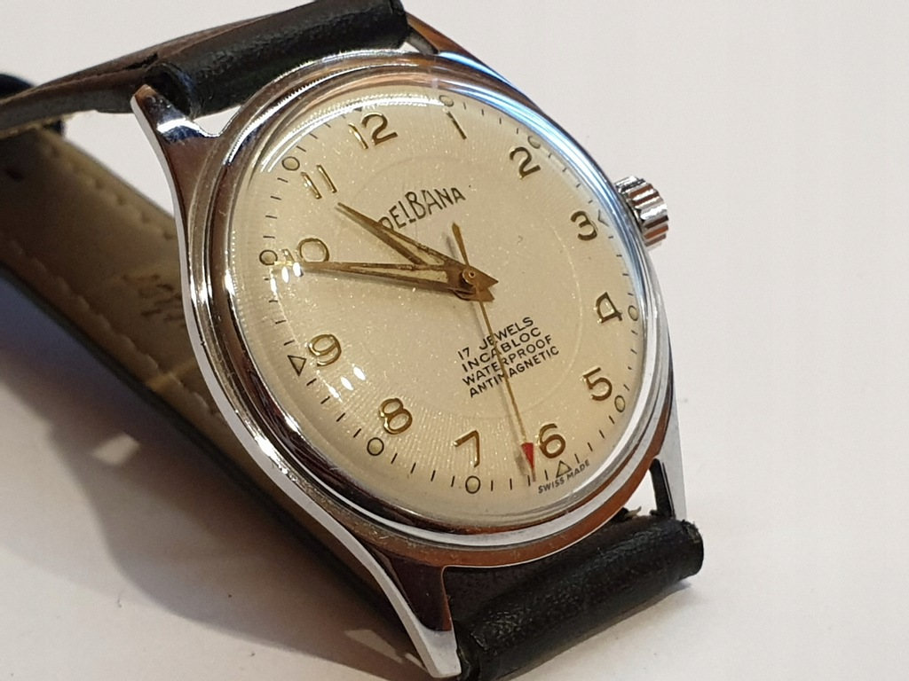 Zegarek Delbana 17 Jewels śliczna jak NOS