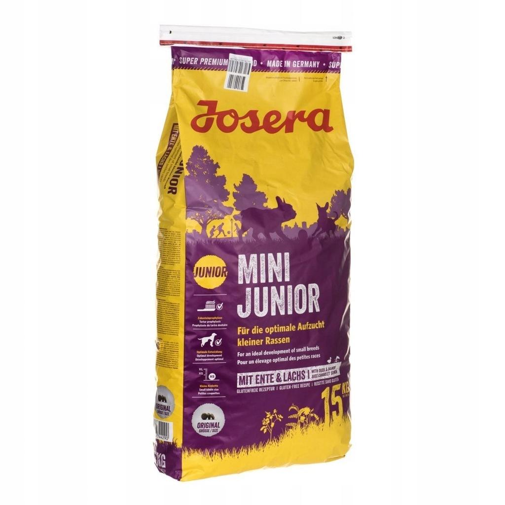 Karma JOSERA Mini Junior (15 kg )