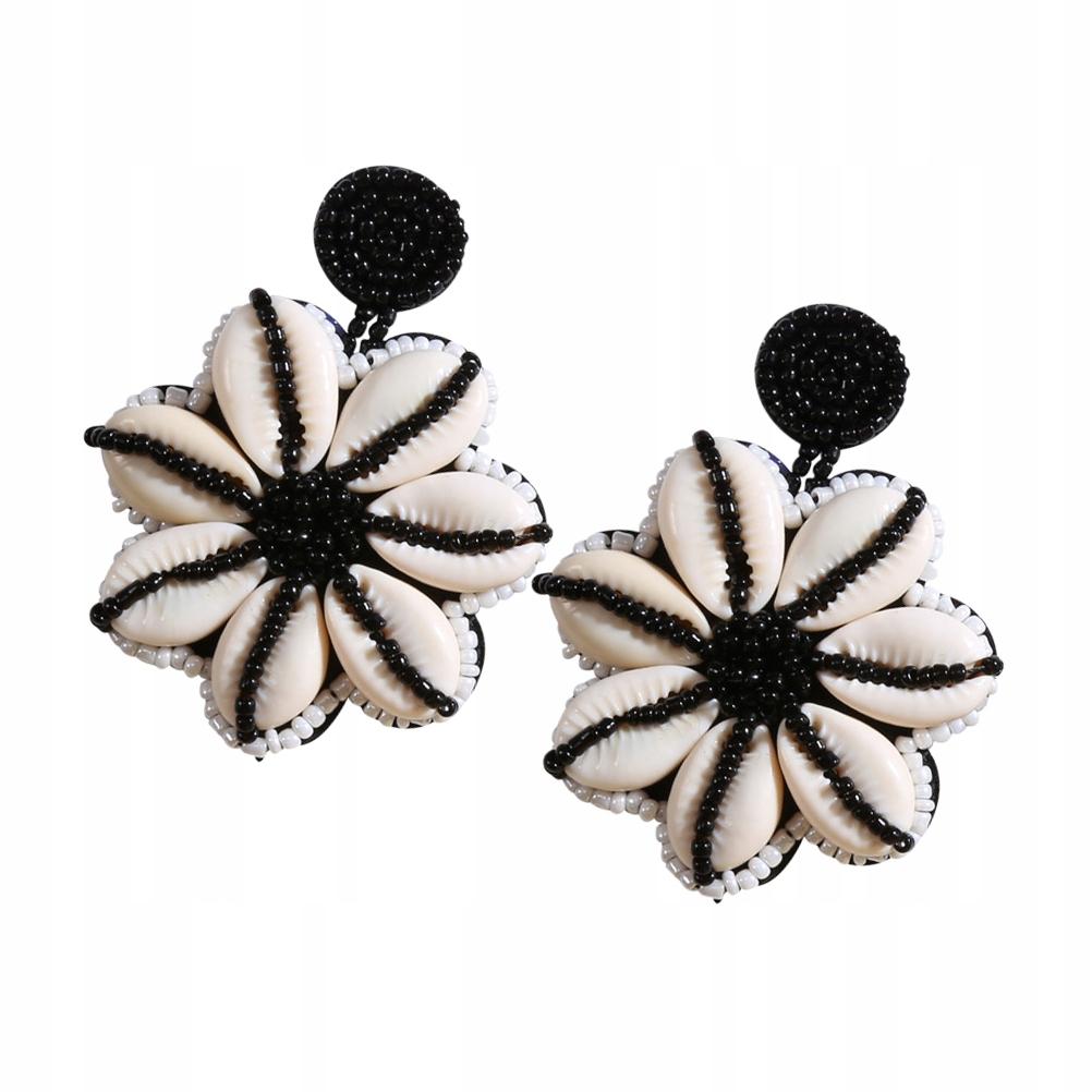 1 Pair of Bohemian Style Earring Flower Shaped Ear