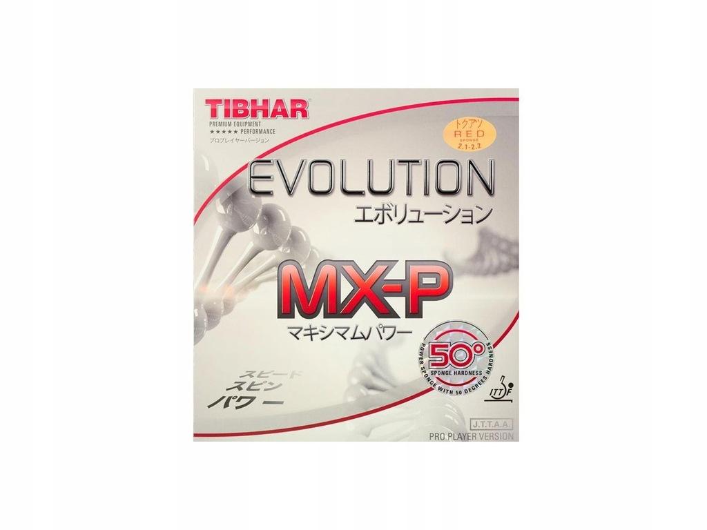 OKŁADZINA TIBHAR EVOLUTION MX-P 50 2,1-2,2 RED HIT